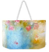 Floral Reflections Weekender Tote Bag