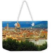 Florence, Italy Panoramic Weekender Tote Bag