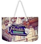 Floridita - Havana Cuba Weekender Tote Bag