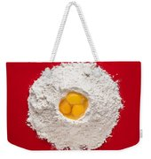 Flour And Eggs Weekender Tote Bag