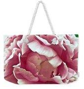 Flower In Blues Weekender Tote Bag