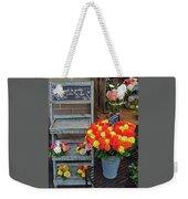 Flower Shop Display In Paris, France Weekender Tote Bag