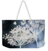 Flowering Dill Clusters Weekender Tote Bag