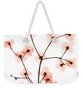 Flowering Dogwood X-ray Weekender Tote Bag