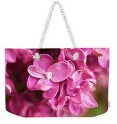 Flowers - Freshly Cut Lilacs Weekender Tote Bag