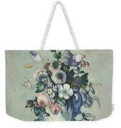 Flowers In A Rococo Vase Weekender Tote Bag