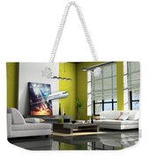Fly The Friendly Skies Art Weekender Tote Bag