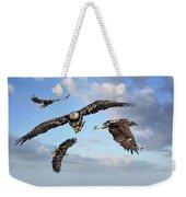 Flying Eagles Weekender Tote Bag