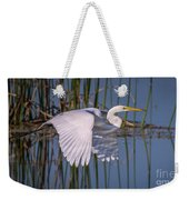 Flying Egret Weekender Tote Bag