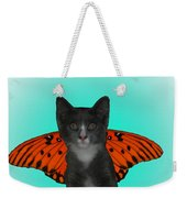 Flying Kitty Weekender Tote Bag