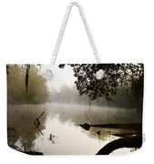 Fog And Light Weekender Tote Bag