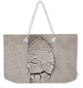 Footprint Weekender Tote Bag