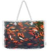 Koi Pond With Framing Weekender Tote Bag