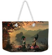 Forest Elves A Sunset Weekender Tote Bag