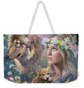 Forest Friends Weekender Tote Bag