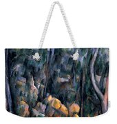Forest In The Caves Above The Chateau Noir Weekender Tote Bag