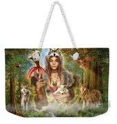 Forest Wolves Weekender Tote Bag