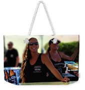 Fort Pierce Bike Night Weekender Tote Bag