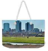 Fort Worth Panorama Weekender Tote Bag