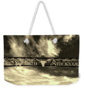 Fort Worth Stockyards District Archway Weekender Tote Bag