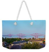 Forth Bridge, Scotland Weekender Tote Bag