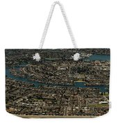 Foster City, California Aerial Photo Weekender Tote Bag