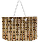 Four Eggplant Abstract Weekender Tote Bag