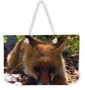 Fox Joy Weekender Tote Bag by Colette V Hera Guggenheim