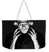 Frankensteins Monster Boris Karloff Weekender Tote Bag