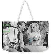 Fred Astaire And Audrey Hepburn Publicity Photo Funny Face Paris France 1957-2014 Weekender Tote Bag