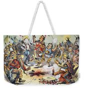 Free Silver Cartoon, 1896 Weekender Tote Bag