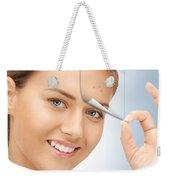 Freeze Skin Tags Weekender Tote Bag