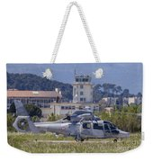 French Navy As565 Panther Helicopter Weekender Tote Bag