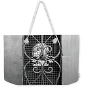 French Quarter Window To The Courtyard - Bw Weekender Tote Bag