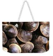 Fresh Clams Weekender Tote Bag