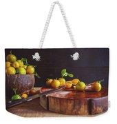 Fresh Kumquat Fruits Weekender Tote Bag