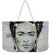 Frida Kahlo Press Weekender Tote Bag