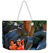 Frolicking In The Canyons Weekender Tote Bag