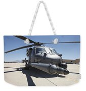 Front View Of A Hh-60g Pave Hawk Weekender Tote Bag