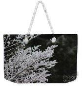 Frozen Branches Weekender Tote Bag