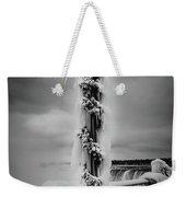 Frozen Over Niagara Falls Weekender Tote Bag
