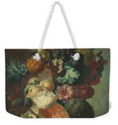 Fruit Flowers And A Fish Weekender Tote Bag
