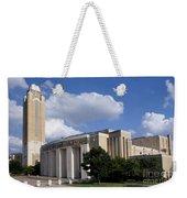 Ft Worth Texas - Landmark Weekender Tote Bag