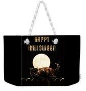 Full Moon Cat Weekender Tote Bag