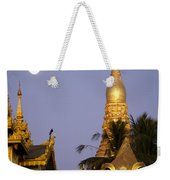Full Moon In Burma Weekender Tote Bag