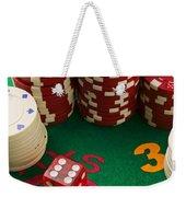 Gambling Dice Weekender Tote Bag