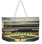 Game Day In Oakland Weekender Tote Bag