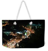 Gatlinburg, Tennessee At Night From The Space Needle Weekender Tote Bag