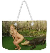 Gator Bites Weekender Tote Bag