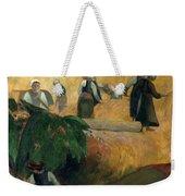 Gauguin: Breton Women Weekender Tote Bag